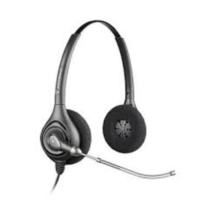 Auriculares Plantronics HW261 biaural con cable incluido