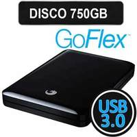 Disco Externo PORTATIL 750Gb SEGATE  (USB 3.0 Y 2.0)
